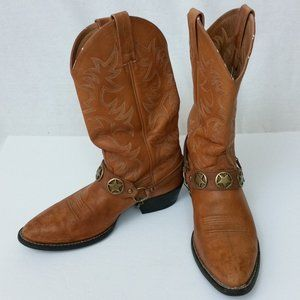 Ariat Heritage Soft Tan Cowhide R Toe & Harness